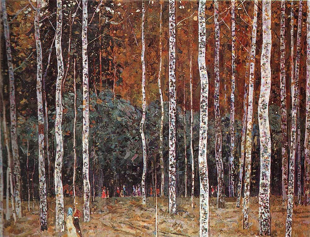 В уфе начала работу выставка весенние раздумья по одноименной картине бориса федоровича домашникова