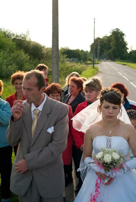 Невеста пустили круга пияны сын